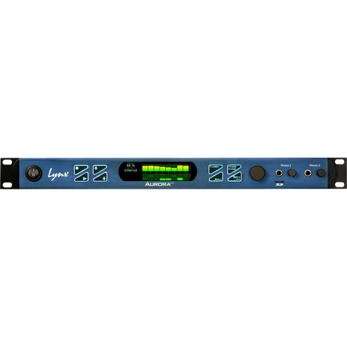 Lynx Studio Technology Aurora(ⁿ) 8 HD - 8 Channel AD/DA Converter with LT-HD Card for Pro Tools | HD
