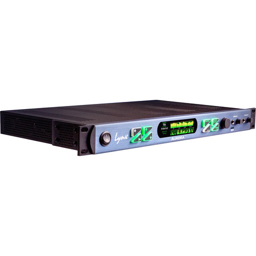 Lynx Studio Technology Aurora(ⁿ) PRE 1608 16 Channel AD/DA Converter with 8-Channel Preamp (Thunderbolt)