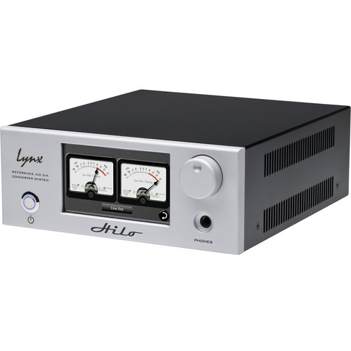 Lynx Studio Technology Hilo Reference A/D D/A Converter System with LT-TB Thunderbolt Card (Silver)