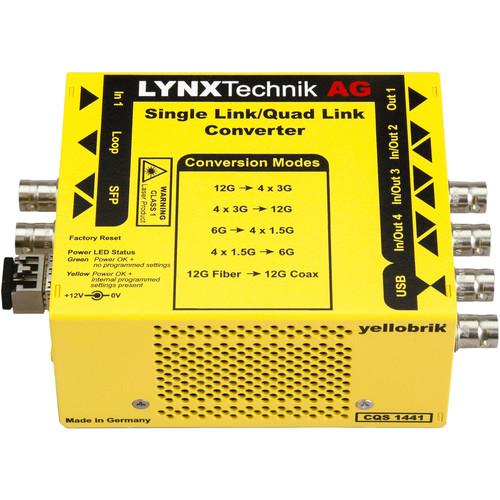 Lynx Technik AG Bi-Directional Single Link To Quad Link Converter