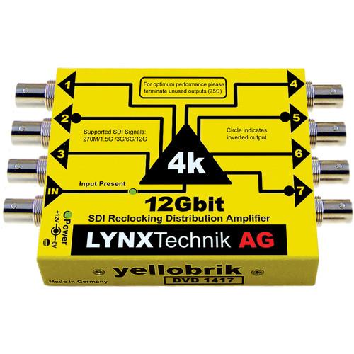 Lynx Technik AG 12G-SDI UHD 4K Distribution Amplifier (1:7)