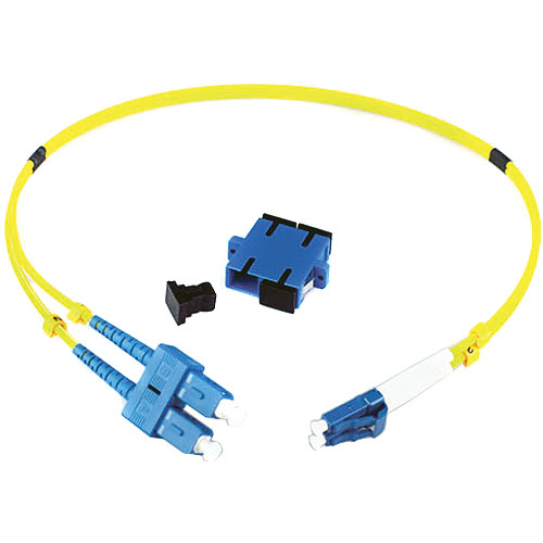 Lynx Technik AG Duplex LC Connector to Duplex SC Connector Fiber Optic Adapter Kit