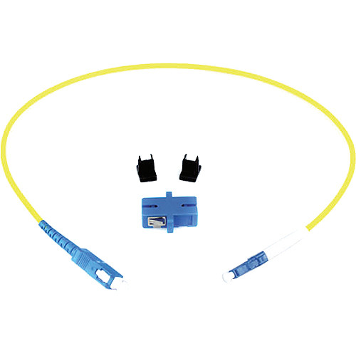 Lynx Technik AG Simplex LC Connector to Simplex SC Connector Fiber Optic Adapter Kit