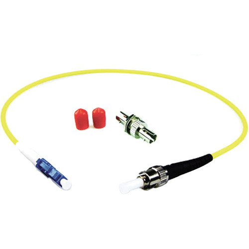 Lynx Technik AG Simplex LC Connector to Simplex ST Connector Fiber Optic Adapter Kit
