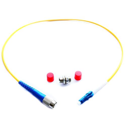 "Lynx Technik AG LC/FC Sim LC to FC Simplex Fiber Adapter Cable Kit (19"")"