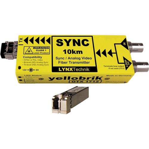 Lynx Technik AG yellobrik Analog Sync/Video Fiber Optic Transmitter (Single Mode LC Connection)