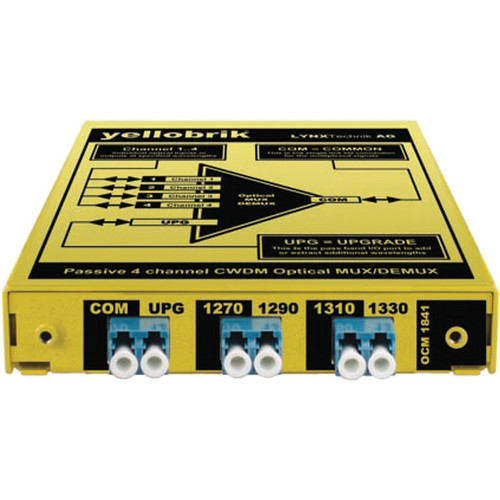 Lynx Technik AG yellobrik OCM 1841 4-Channel CWDM Optical Mux/Demux