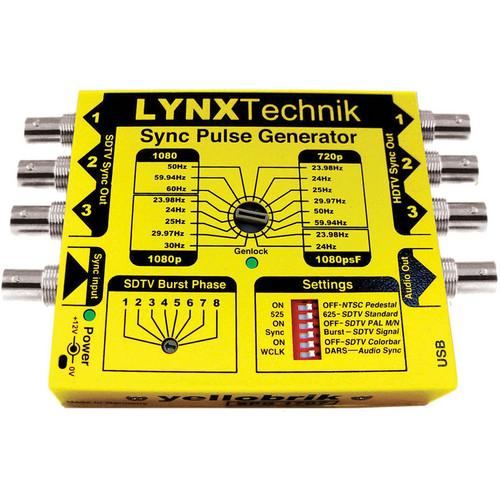 Lynx Technik AG yellobrik SPG 1707 HD / SD Sync Pulse Generator with Genlock
