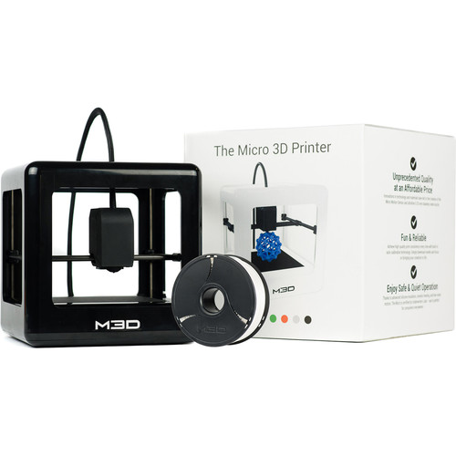 M3D Micro 3D Printer (Black, Retail Edition)