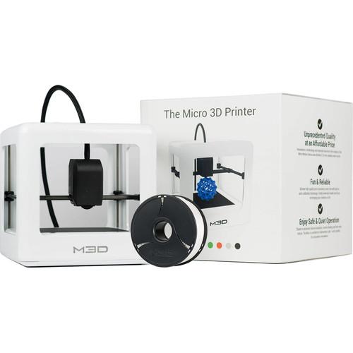 M3D Micro 3D Printer (White, Retail Edition)
