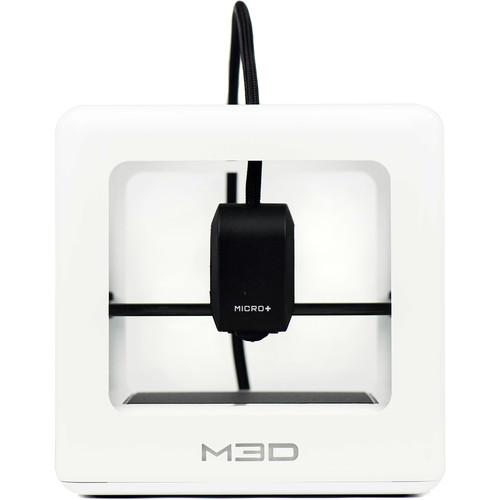 M3D Micro+ 3D Printer (White)