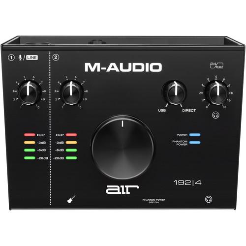 M-Audio AIR 192 4 Desktop 2x2 USB Type-C Audio Interface