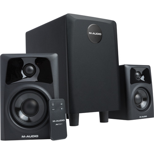 M-Audio AV32.1 Dual Speaker & Subwoofer System