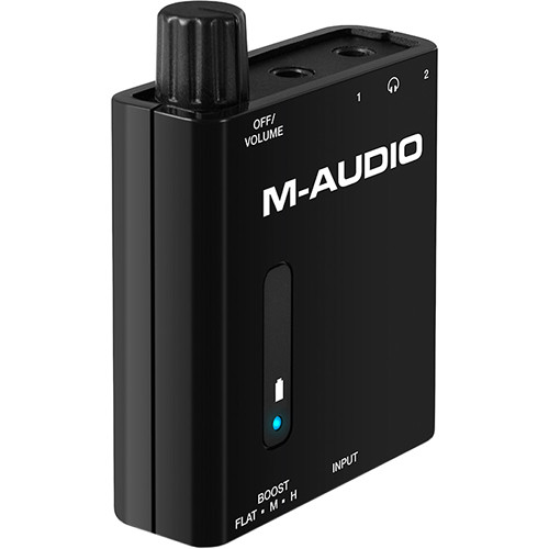 M-Audio Bass Traveler - Portable 2-Channel Headphone Amplifier