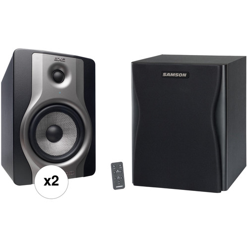"M-Audio BX5 Carbon Monitor and RAX10S 10"" 250W Subwoofer Kit"