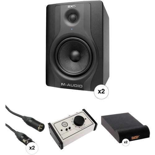 M-Audio BX5 Carbon Studio Monitoring & Controller Kit