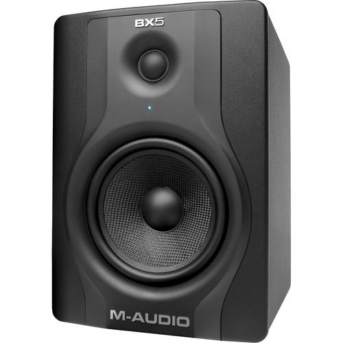 "M-Audio BX5 Carbon 5"" 2-Way 70W Active Studio Monitor (Black)"