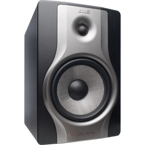 "M-Audio BX8 Carbon Monitor - Two-Way Studio Monitor with 8"" Woofer"