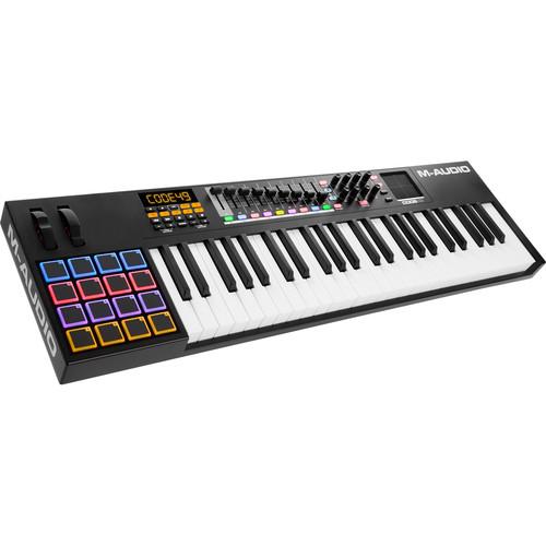 M-Audio Code 49 49-Key USB/MIDI Keyboard Controller with X/Y Touch Pad (Black)