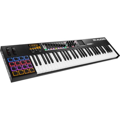 M-Audio Code 61 61-Key USB/MIDI Keyboard Controller with X/Y Touch Pad (Black)