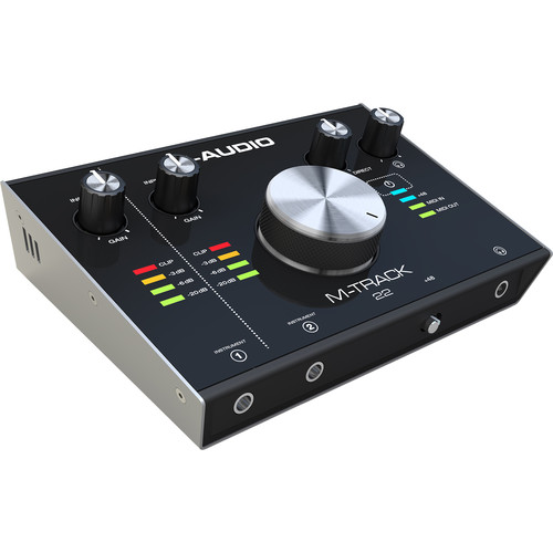 M-Audio M-Track 22 - 24-Bit/192 kHz USB Audio Interface