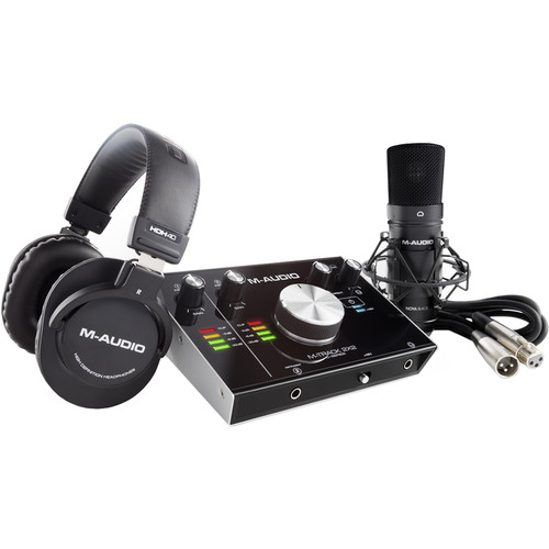 M-Audio M-Track 2x2 Vocal Studio Pro Vocal Production Package
