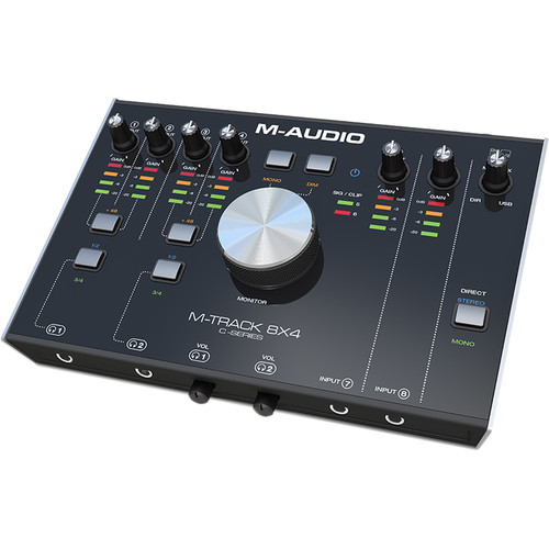 M-Audio M-Track USB-C High-Speed 8x4 Audio/MIDI Interface