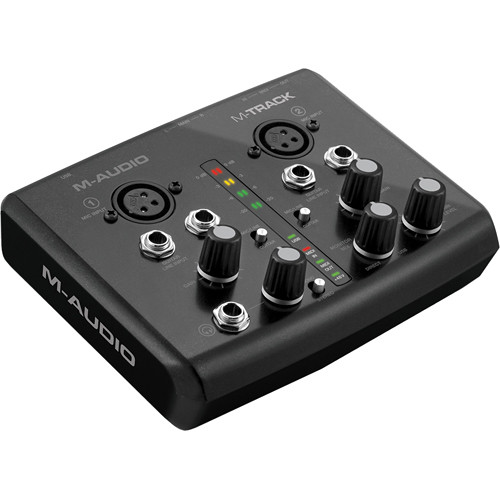 M-Audio M-Track Two-channel Portable USB Audio/MIDI Interface