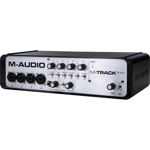 M-Audio M-Track Quad - USB Audio/MIDI Interface