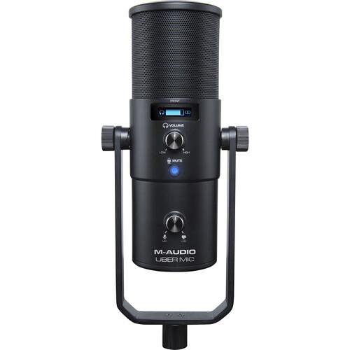 M-Audio Uber Mic USB Microphone with Headphone Output