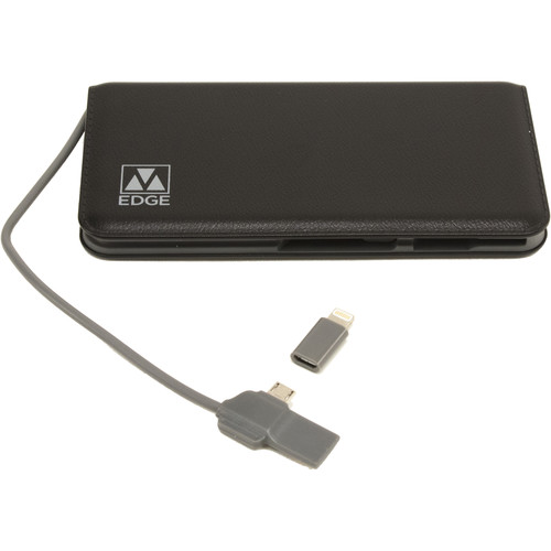 M-Edge 8000 mAh Power Bank (Black)