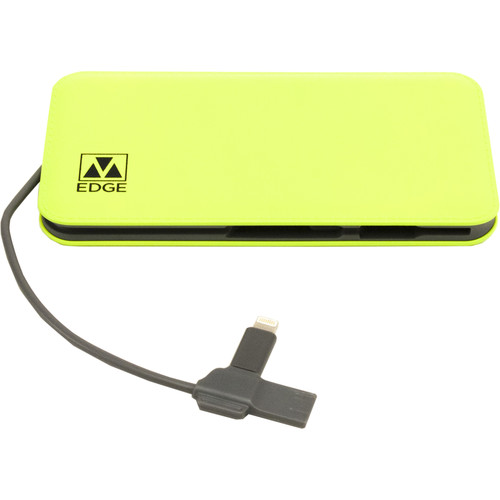 M-Edge 8000 mAh Power Bank (Lime)