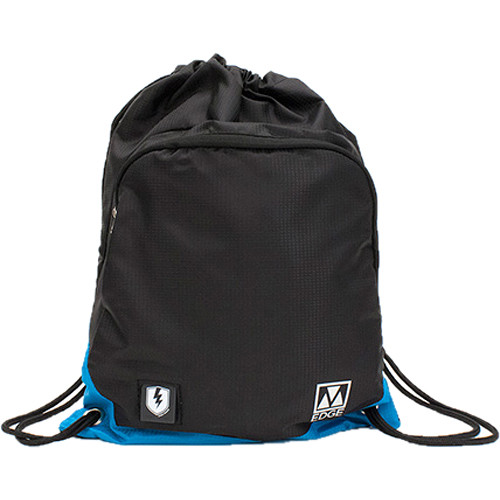M-Edge Tech Sack Pack with Built-In Battery (Black/Blue)