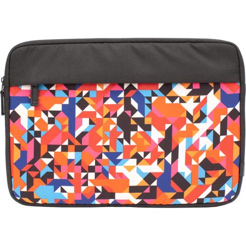 """M-Edge Printed 13"""" Laptop/Tablet Sleeve (Geo Prism)"""