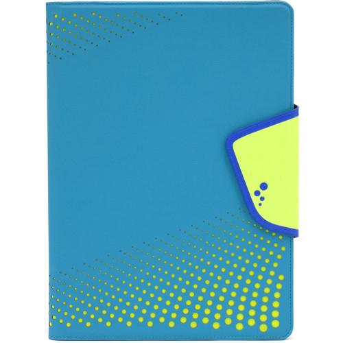 "M-Edge Sneak Folio for 9""/10"" Tablets (Aqua/Yellow)"