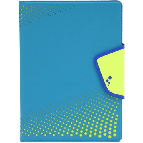 "M-Edge Sneak Folio for 9""/10"" Tablets (Aqua/Yellow)"