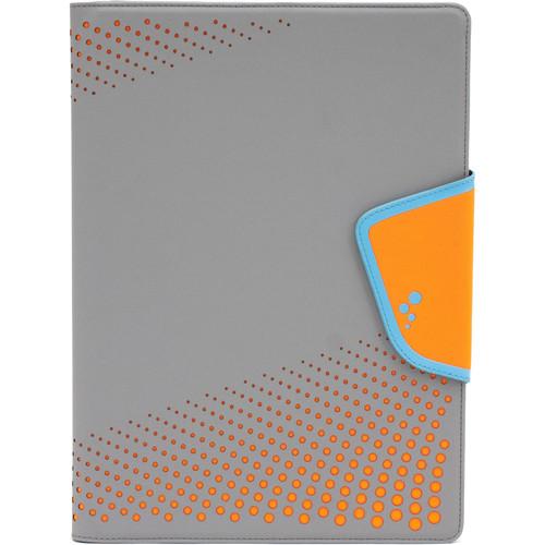 "M-Edge Sneak Folio for 9""/10"" Tablets (Grey/Orange)"