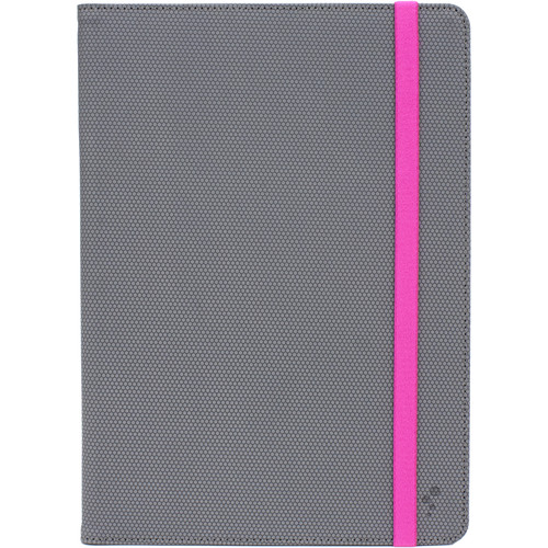 "M-Edge Folio Plus for 7""/8"" Tablets (Grey/Pink)"