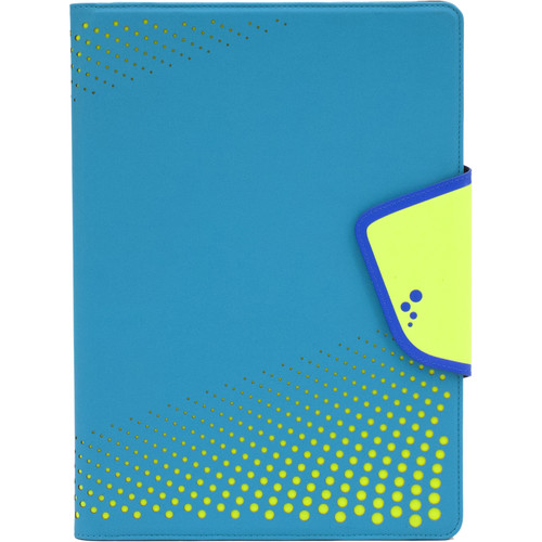 "M-Edge Sneak Folio for 7""/8"" Tablets (Aqua/Yellow)"