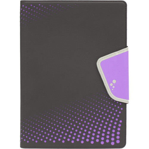 "M-Edge Sneak Folio for 7""/8"" Tablets (Black Purple)"