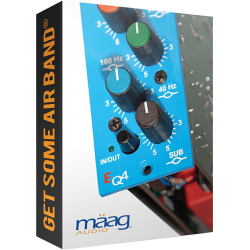 Maag Audio EQ4 - 6 Band Equalizer with AIR BAND Plug-In (Download)
