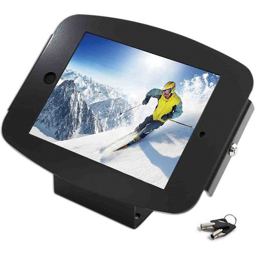 Maclocks iPad 2 / 3 / 4 Space Enclosure Kiosk (Black)
