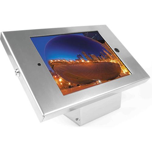 Maclocks iPad Enclosure & Mount Kiosk Bundle with Security Lock (Silver)