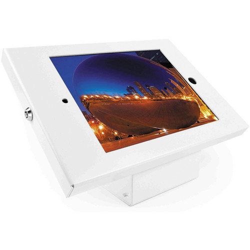 Maclocks iPad Enclosure & Mount Kiosk Bundle with Security Lock (White)