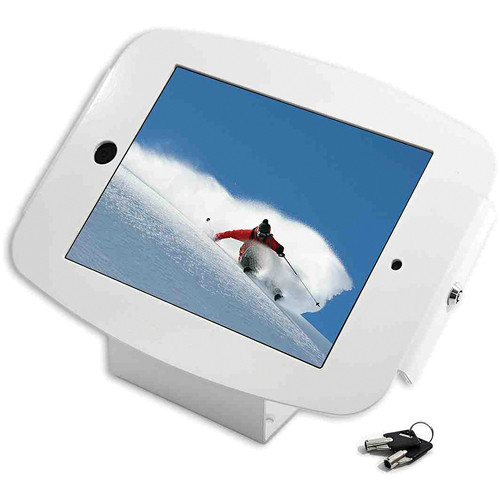 Maclocks iPad 2 / 3 / 4 Space Enclosure Kiosk (White)