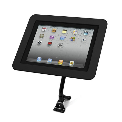 Maclocks iPad Lock Flex Arm with Metal Executive iPad Enclosure (Black)