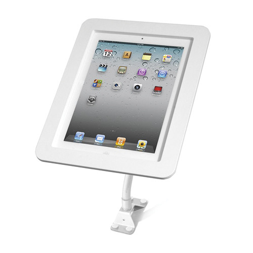 Maclocks iPad Lock Flex Arm with Metal Executive iPad Enclosure (White)