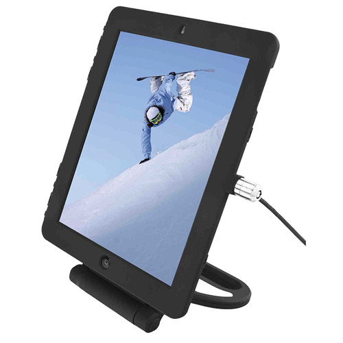 Maclocks iPad Lock Security Cover with Security Rotating Stand (Black)