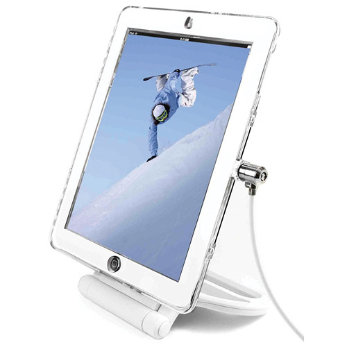 Maclocks iPad Lock Security Cover with Security Rotating Stand (White)
