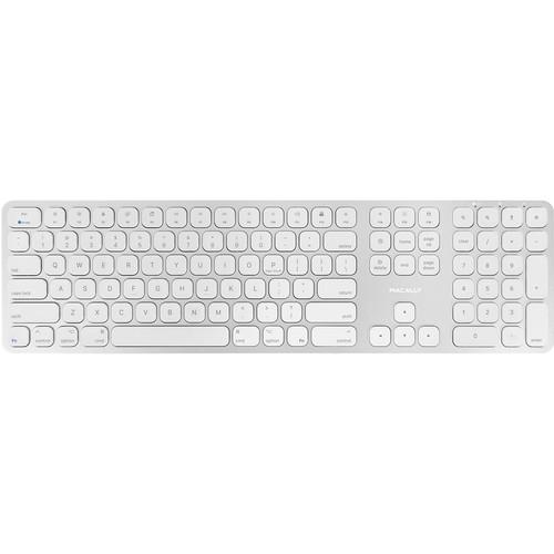 Macally Aluminum Slim Bluetooth Keyboard for Mac